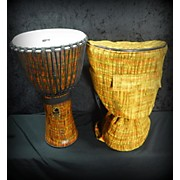 Toca 14in Freestyle Cannon Djembe With Bag Lava 14 In. Djembe