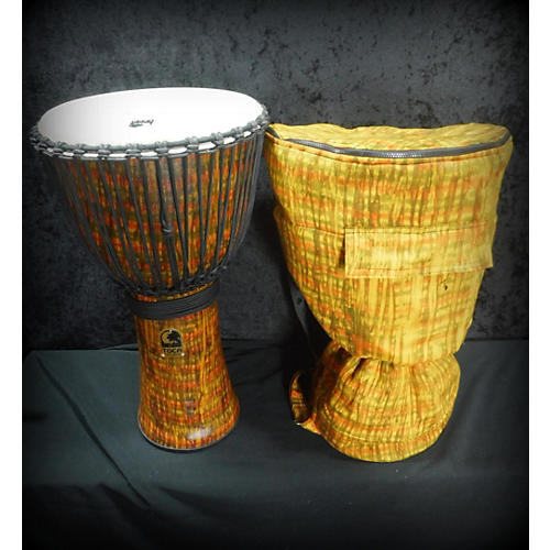 Toca 14in Freestyle Cannon Djembe With Bag Lava 14 In. Djembe-thumbnail
