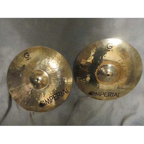 Imperial 14in Gold Hi Hat Cymbal