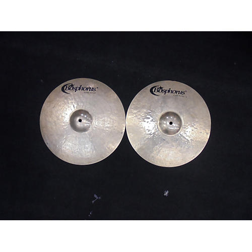 Bosphorus Cymbals 14in Gold Series Hi Hat Pair Cymbal-thumbnail