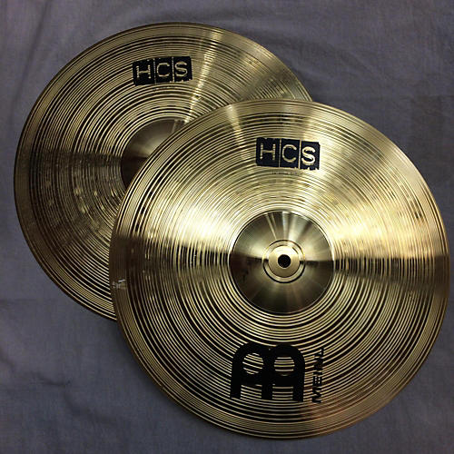 Meinl 14in HCS Hi Hat Bottom Cymbal