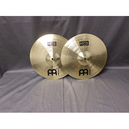 Meinl 14in HCS Hi Hat Crash Ride Set Cymbal-thumbnail