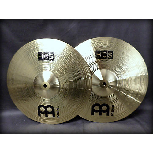 Meinl 14in HCS Hi Hat Pair Cymbal-thumbnail