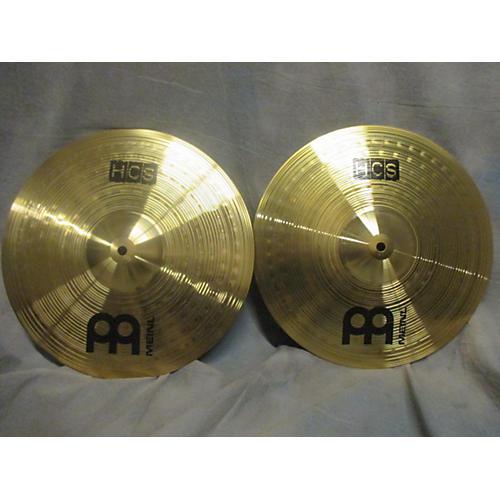Meinl 14in HCS Hi Hat Pair Cymbal-thumbnail
