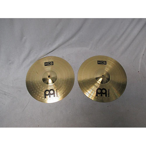 Meinl 14in HCS Hi Hat Pair Cymbal