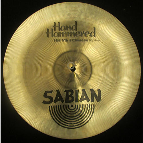 Sabian 14in HH Hand Hammered Mini Chinese Cymbal