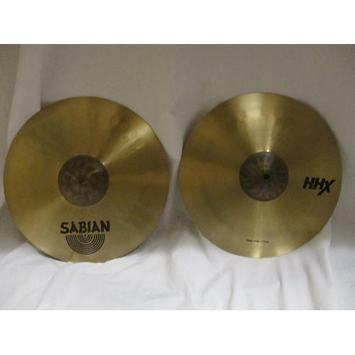 Sabian 14in HHX Stage Hi Hat Pair Cymbal-thumbnail