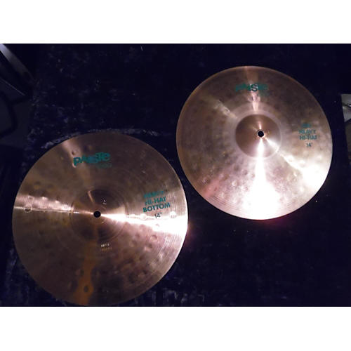 Paiste 14in Heavy Hi Hat Pair Cymbal-thumbnail