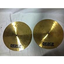 Peace 14in Hi Hat Cymbal
