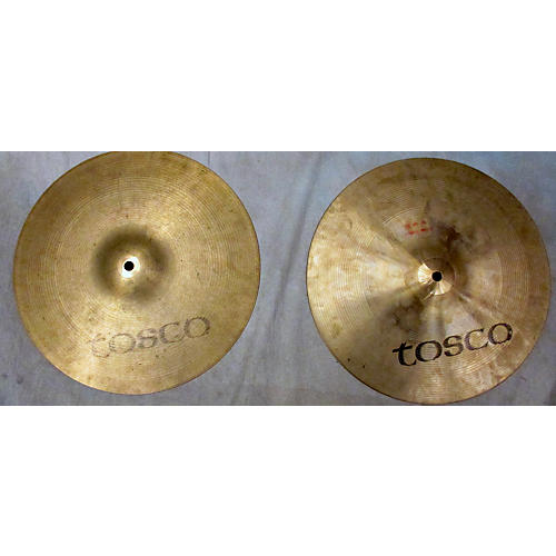 Tosco 14in Hi Hat Pair Cymbal