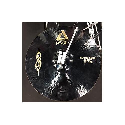 Paiste 14in Joey Jordison Signature Series Alpha Sound Edge Hi-Hat Cymbal-thumbnail