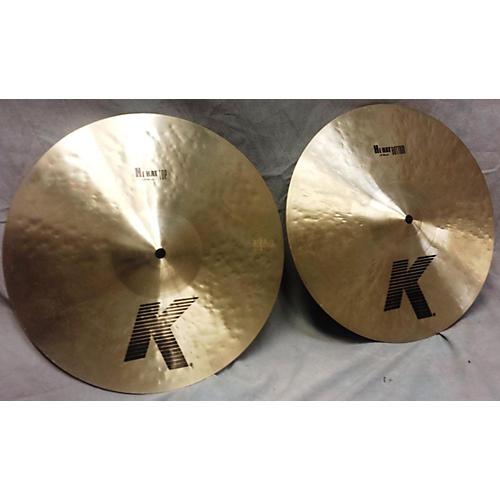 Zildjian 14in K Custom Dark Hi Hat Pair Cymbal-thumbnail