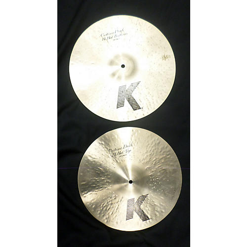 Zildjian 14in K Custom Dark Hi Hat Pair Cymbal