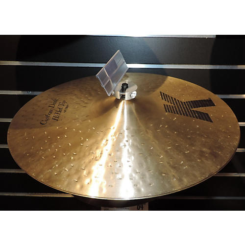 Zildjian 14in K Custom Dark Hi Hat Pair Cymbal-thumbnail