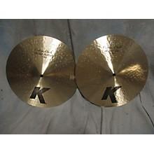 Zildjian 14in K Custom Dark Hi Hat Pair Cymbal
