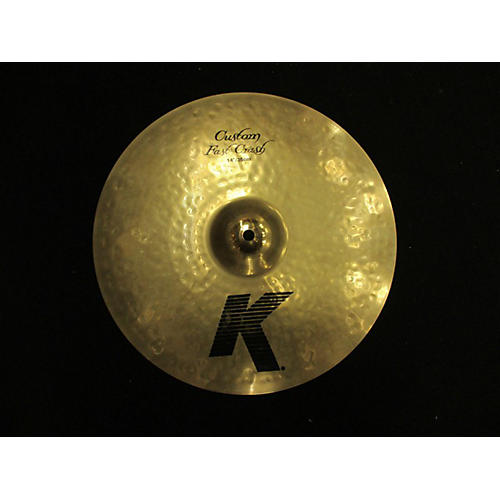 Zildjian 14in K Custom Fast Crash Cymbal-thumbnail