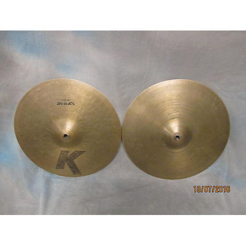 Zildjian 14in K Custom Hybrid Hi Hat Pair Cymbal-thumbnail