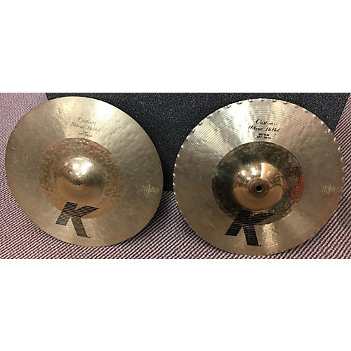 Zildjian 14in K Custom Hybrid Hi Hat Pair Cymbal-thumbnail