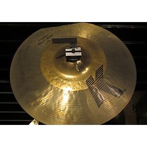 Pre-owned Zildjian 14 inch K Custom Hybrid Hi Hat Pair Cymbal by Zildjian