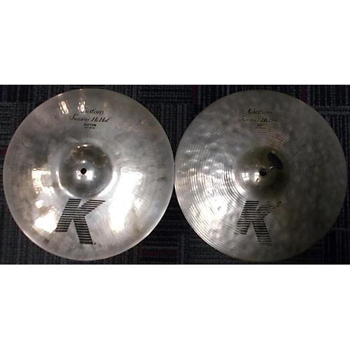 Zildjian 14in K Custom Session Hi Hat Pair Cymbal