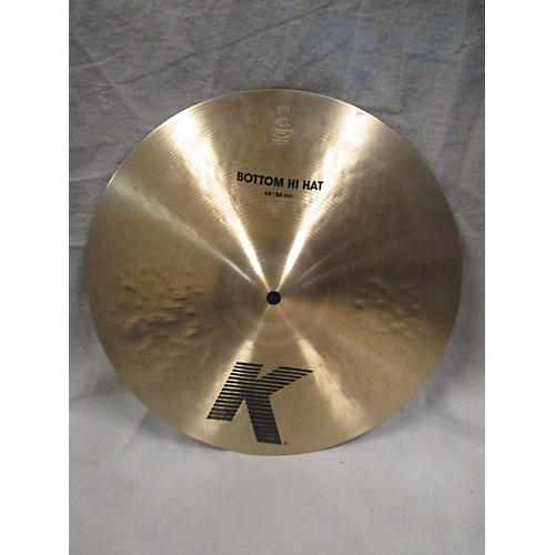 Zildjian 14in K Hi Hat Bottom Cymbal