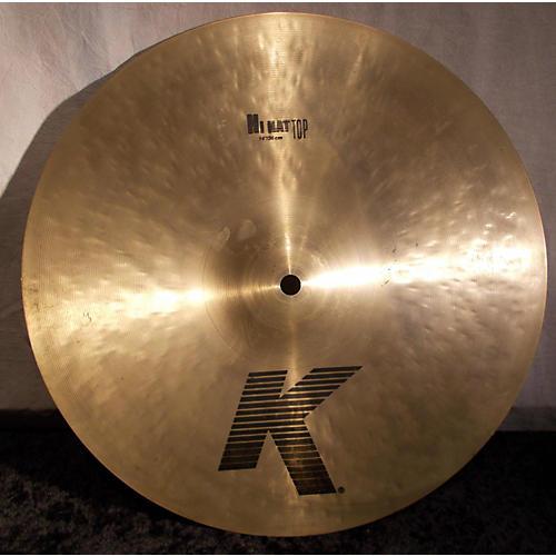 Zildjian 14in K Hi Hat Top Cymbal-thumbnail