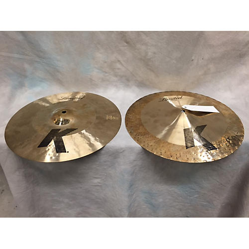 Zildjian 14in K Limited Top And Bottom Cymbal