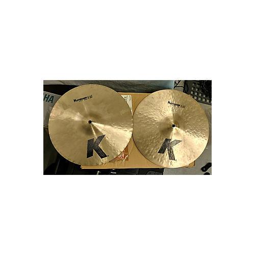 Zildjian 14in K Mastersound Hi Hats Pair Cymbal-thumbnail