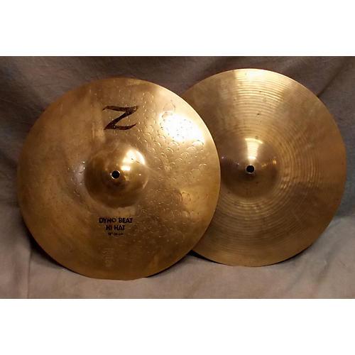 Zildjian 14in KZ Custom Dyno Beat Hi Hat Cymbal