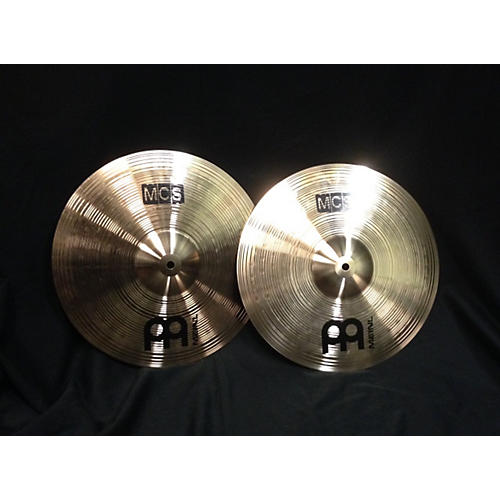 Meinl 14in MCS SERIES HIHAT TOP AND BOTTOM Cymbal