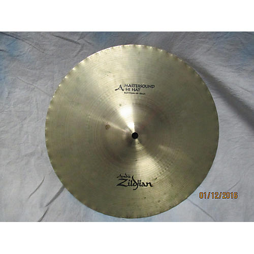 Zildjian 14in Mastersound Hi Hat Bottom Cymbal-thumbnail