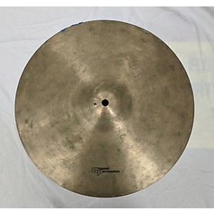 Pre-owned Groove Percussion 14 inch Miscellaneous Crash Cymbal Cymbal