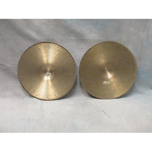 Zildjian 14in Mismatched Hi Hats (Pair) Cymbal