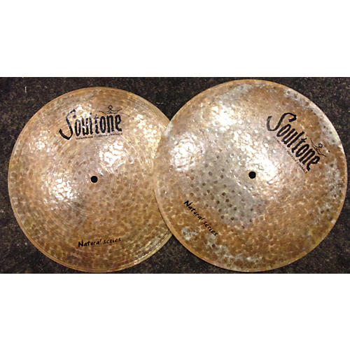 Soultone 14in NEW Natural Flat Hats Cymbal