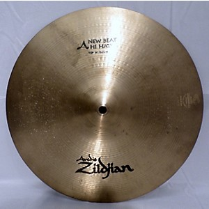 Pre-owned Zildjian 14 inch New Beat Hi Hat Bottom Cymbal by Zildjian