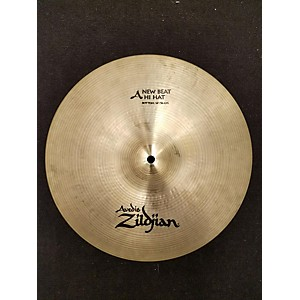Pre-owned Zildjian 14 inch New Beat Hi Hat Bottom Cymbal by Zildjian