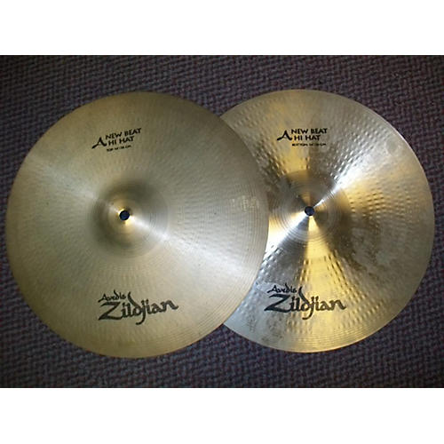 Zildjian 14in New Beat Hi Hat Pair Cymbal-thumbnail