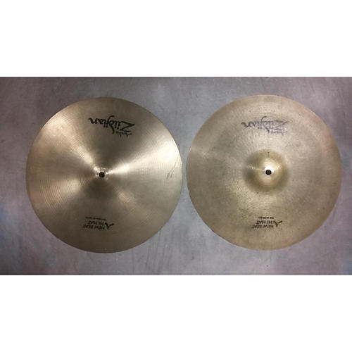 Zildjian 14in New Beat Hi Hat Pair Cymbal