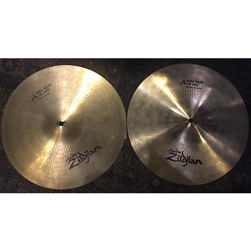 Zildjian 14in New Beat Hi Hat Pair Cymbal-thumbnail