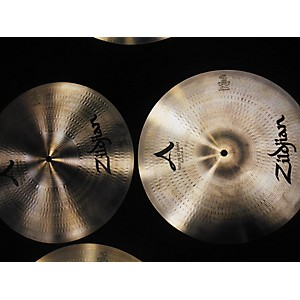 Pre-owned Zildjian 14 inch New Beat Hi Hat Pair Cymbal by Zildjian