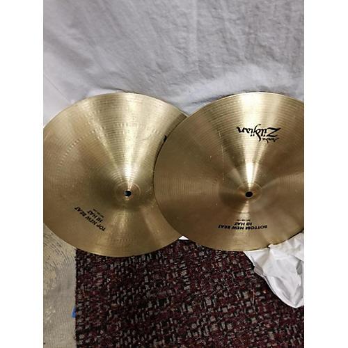 Zildjian 14in New Beat Hi Hat Pair Cymbal