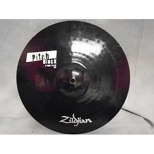 Zildjian 14in PITCH BLACK HI HAT TOP Cymbal