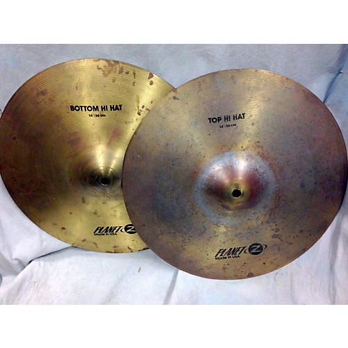 Zildjian 14in PLANET Z HIHAT PAIR Cymbal-thumbnail