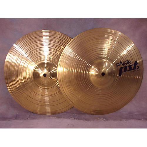 Paiste 14in PST3 Hi Hat Pair Cymbal-thumbnail