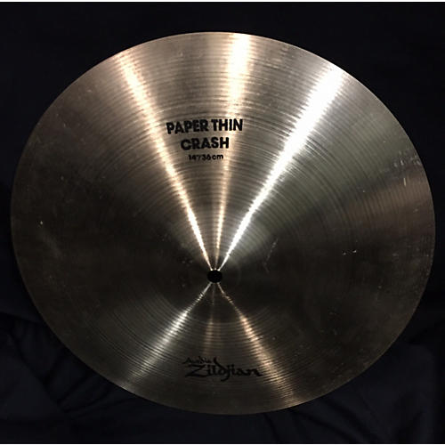 Zildjian 14in Paper Thin Crash Cymbal-thumbnail