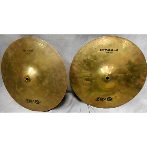 Zildjian 14in Planet Z Hi Hat Cymbal-thumbnail
