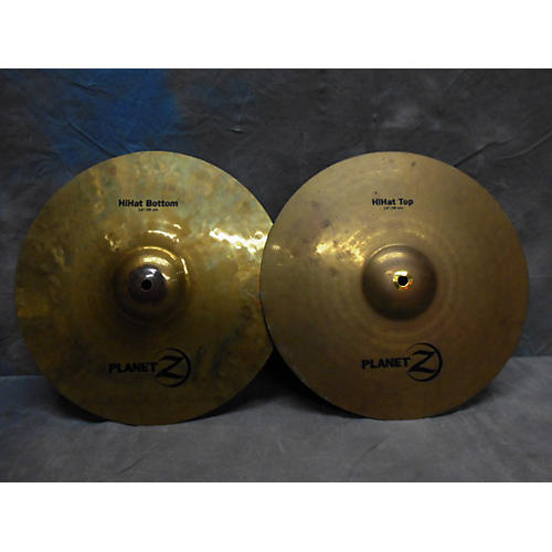 Zildjian 14in Planet Z Hihat Pair Cymbal  33