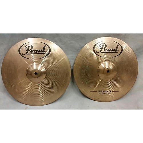 Pearl 14in Pro HI Hat Pair Cymbal