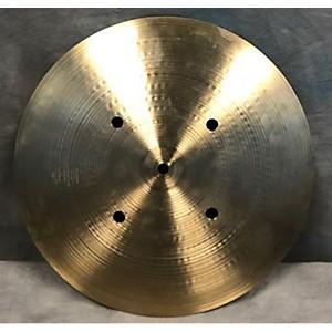 Pre-owned Zildjian 14 inch Quick Beat Hi Hat Bottom Cymbal by Zildjian