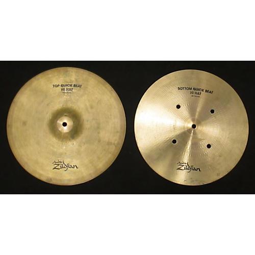 Zildjian 14in Quick Beat Hi Hat Pair Cymbal-thumbnail